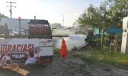 Por diez días consecutivos lleva  HP diputado electo fumigación al distrito 7 en Reynosa.
