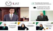 Entrega la UAT XIII Generación de Maestría en Dirección Empresarial