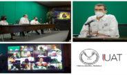 Evalúan rector y directores avances de la gestión institucional de la UAT