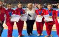 Gimnastas tamaulipecas destacan en torneo en Grecia