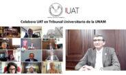 Colabora UAT en Tribunal Universitario de la UNAM