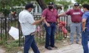 Recorre alcalde panteón de zona centro; preparan camposanto para día de muertos