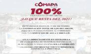 Extiende COMAPA Reynosa 100% de descuento en recargos; ¡Lo que resta del 2021!