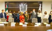 Rinde protesta el Lic. Carlos Luis Peña Garza como Presidente del Patronato del Sistema DIF Reynosa.